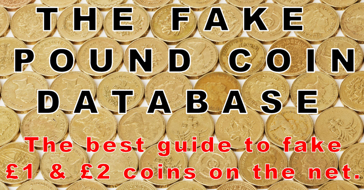 The Fake Pound Coin Database
